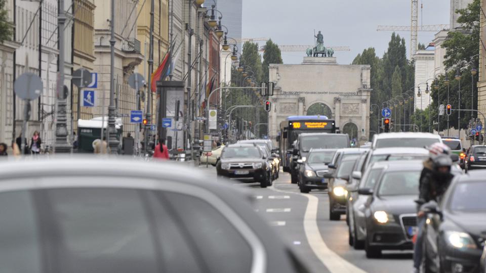 Air Pollution in Munich