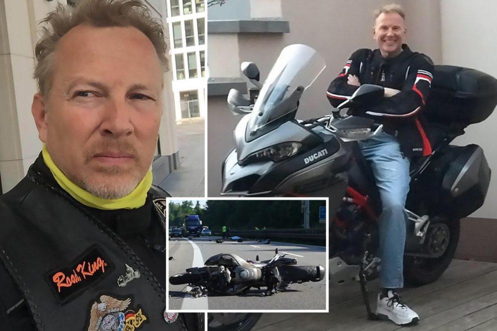 Germany's Prince Otto of Hesse, 55, is killed in motorbike horror crash on motorway