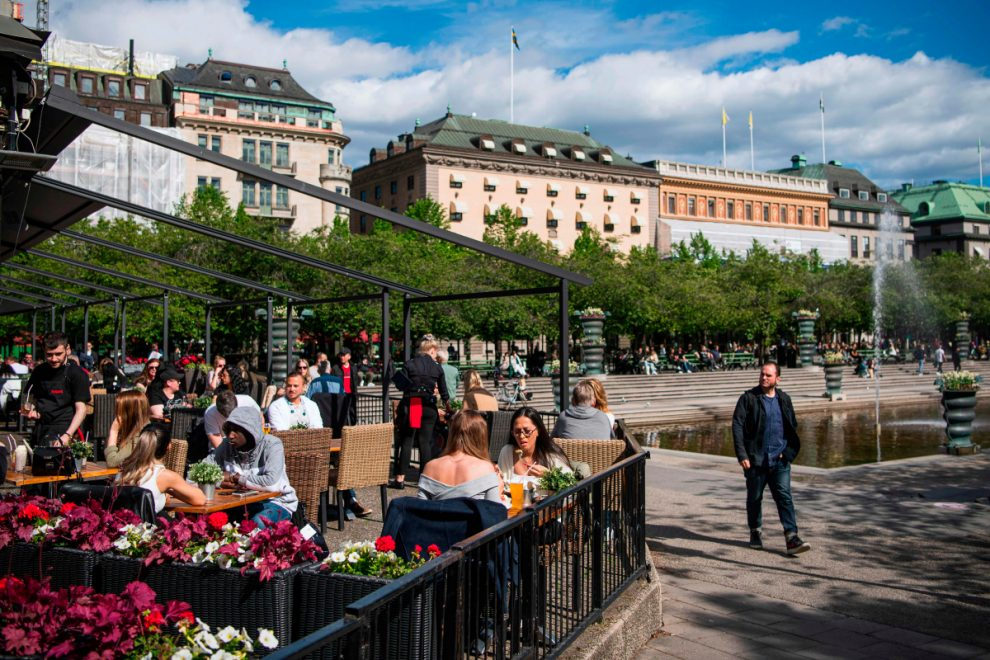 Norway and Denmark ban Swedish tourists as neighbour has world's highest per-capita death rate after shunning lockdown