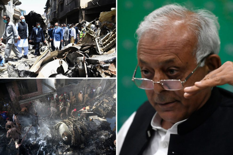 Pakistan plane crashed killing 97 because pilots 'were distracted talking about coronavirus while trying to land'
