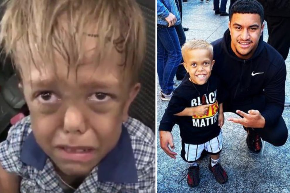 Quaden Bayles racially abused after Black Lives Matter protest months after horrific bullying video went viral