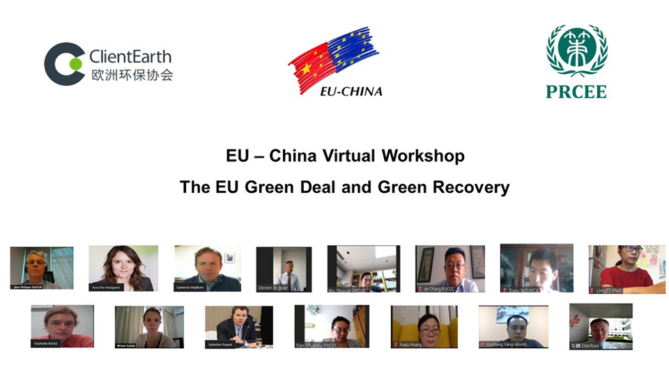 EU – China Dialogue on Green Deal and Green Economic Recovery