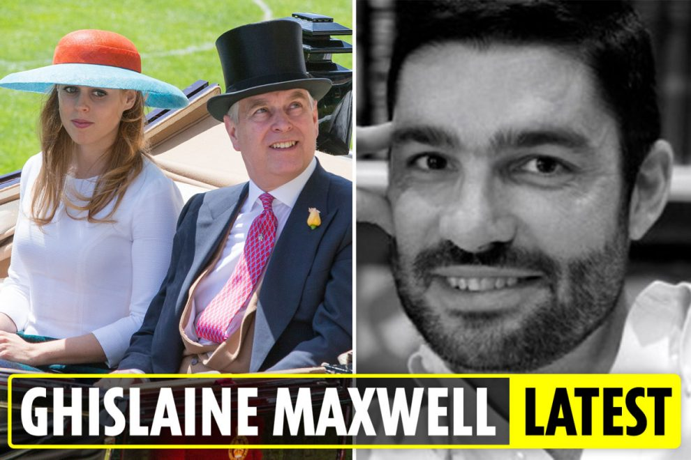 Ghislaine Maxwell: Scott Borgerson boasted about dating 'high profile woman' as Prince Andrew blamed for secret wedding