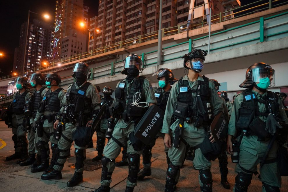 Hong Kong – Furious China vows REVENGE on Britain over plan to help three million escape and resettle in the UK