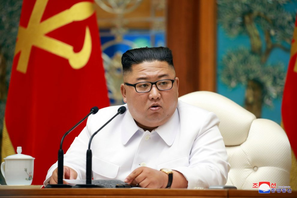 Kim Jong-un could be using corona crisis 'to develop bio doomsday weapon'