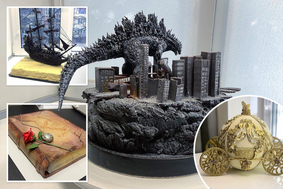 This baker's incredibly detailed cakes look far too good to eat