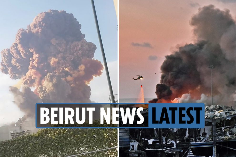 Beirut explosion LIVE news: At least 78 dead after huge blast in Lebanese capital – updates