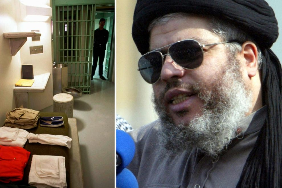Hate preacher Abu Hamza sues US over 'cruel' conditions at Supermax jail causing his teeth to ROT