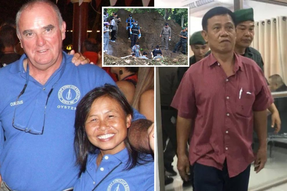 Convicted murderers who killed Brit couple in Thailand AVOID death penalty as sentences 'quietly overturned'