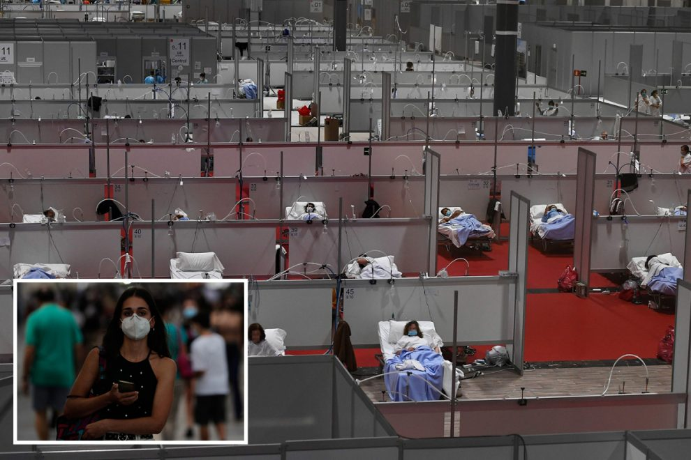 Europe's hospitals on verge of 'breaking point' as deaths rise in coronavirus hotspots