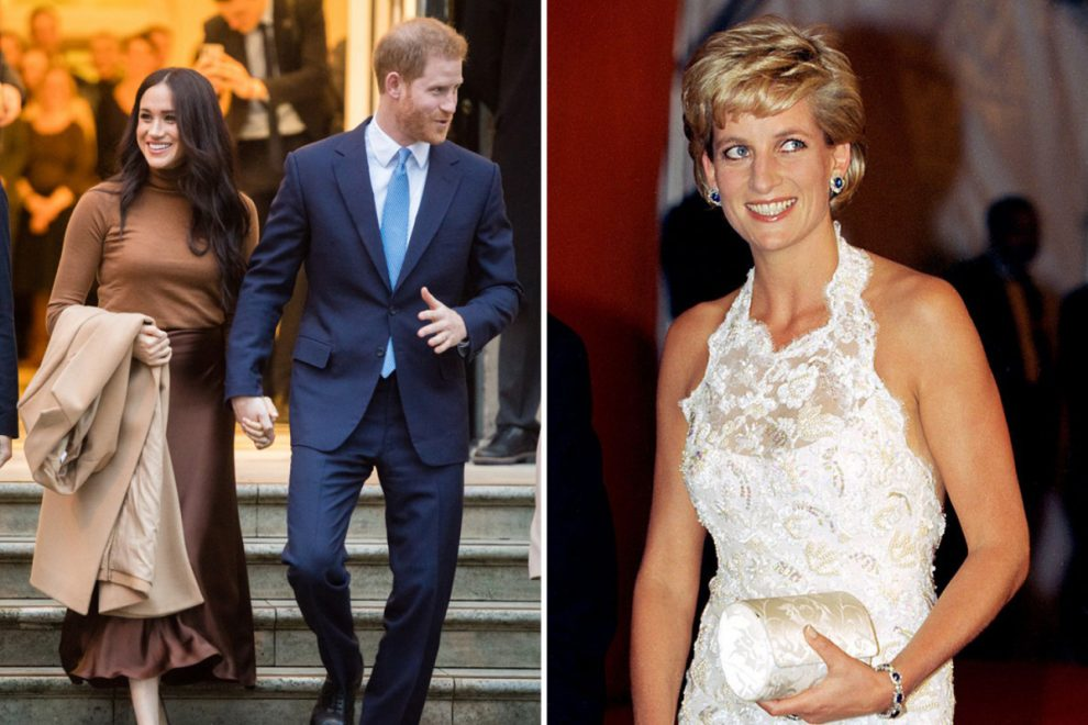 Meghan Markle and Prince Harry 'in talks to make Princess Diana documentary as part of £112m Netflix deal'