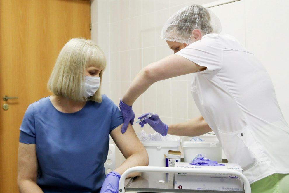 Russia brags 40,000 people are being vaccinated with '100% effective' coronavirus jab Sputnik V amid doubts in the West