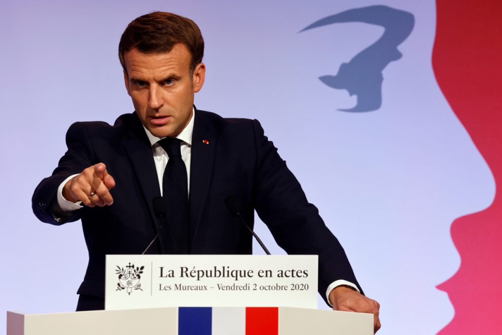 Emmanuel Macron warns Islam 'is in crisis all over the world' as he unveils law to rid France of 'separatists'