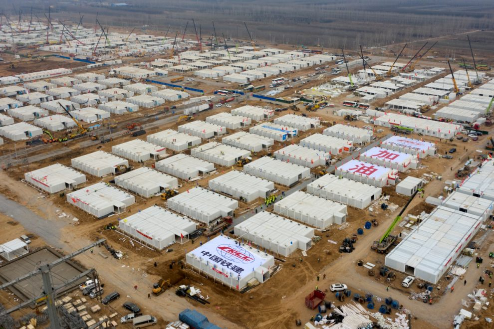 China builds giant quarantine camp for 4,000 people amid fears of another massive Covid outbreak