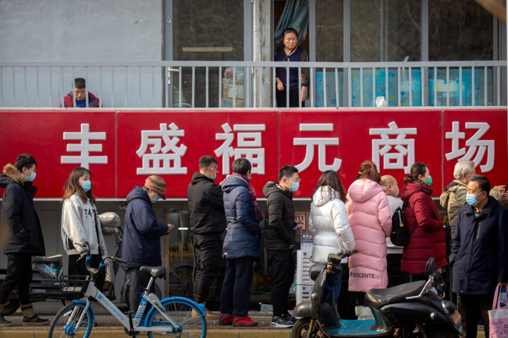 China orders millions to be tested for Covid in Beijing after city hit by three new cases as huge quarantine camps built