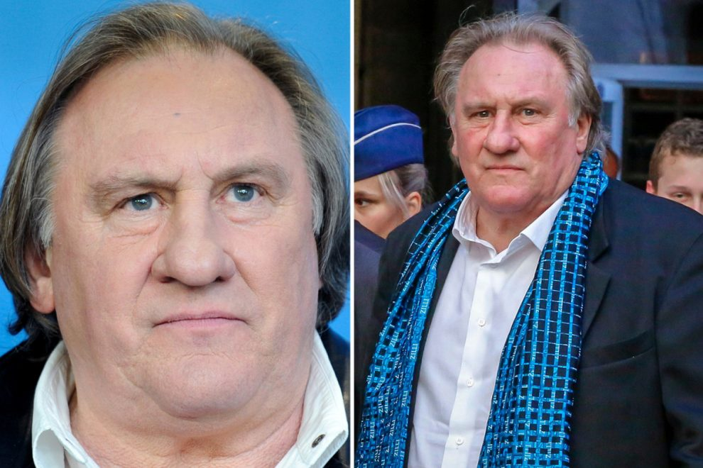 Actor Gerard Depardieu, 72, breaks his silence after being charged with rape and says 'I am innocent'