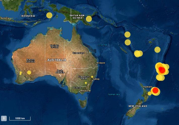 New Zealand earthquake –  Huge 6.6 magnitude quake days after string of tremors sparked tsunami warning