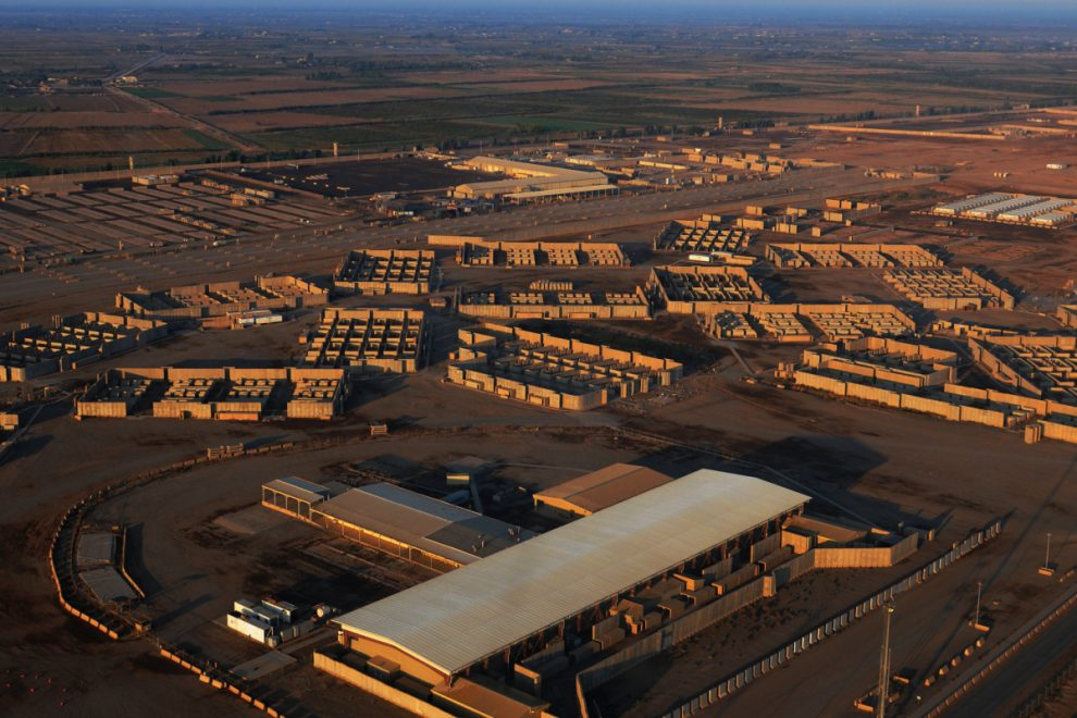Seven rockets fired at US base housing troops in Iraq just weeks after contractor was killed at airbase