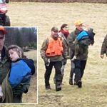 Boy, 3, who went missing for three days in sub-zero woods is miraculously found ALIVE just 800m from home
