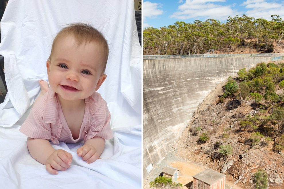 Dad jumps to his death with baby daughter in his arms from 118ft 'Whispering Wall' dam in horror murder-suicide