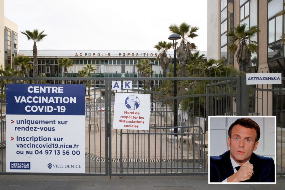 French teachers ditch Astrazeneca jab as huge vaccination centre closes after just 50 people out of 4,000 sign up