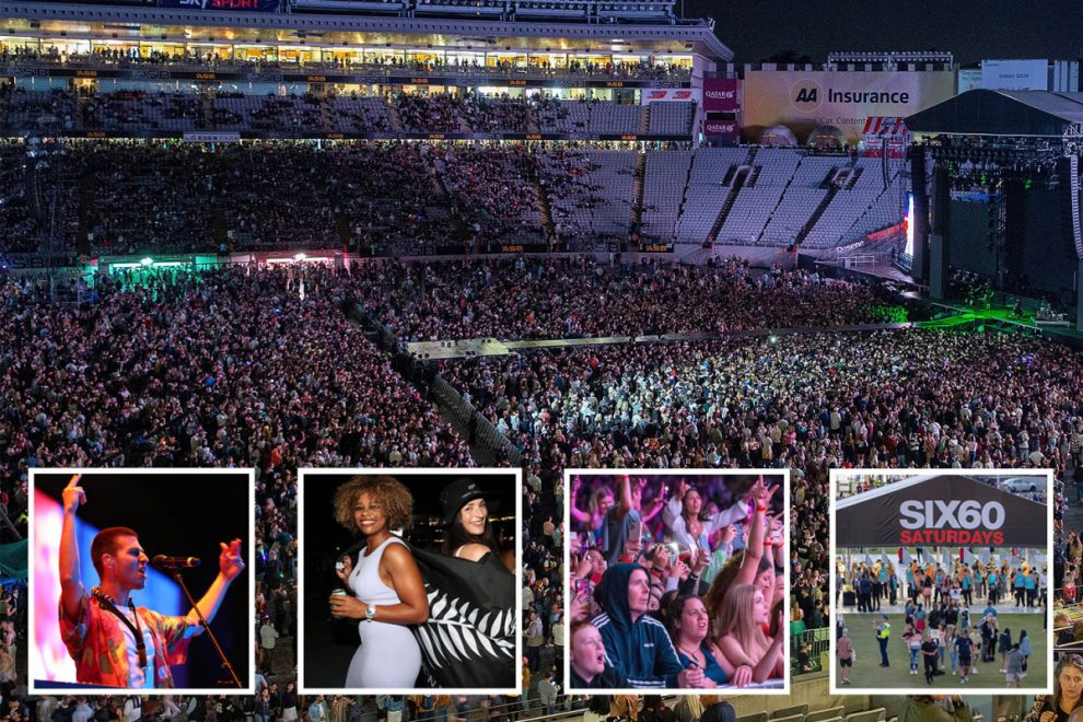 Huge crowd of 50,000 music fans pack out New Zealand concert with no masks or social distancing