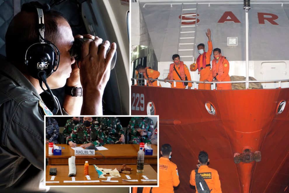 Missing Indonesian submarine found split in three and 2,600ft underwater with all 53 crew dead