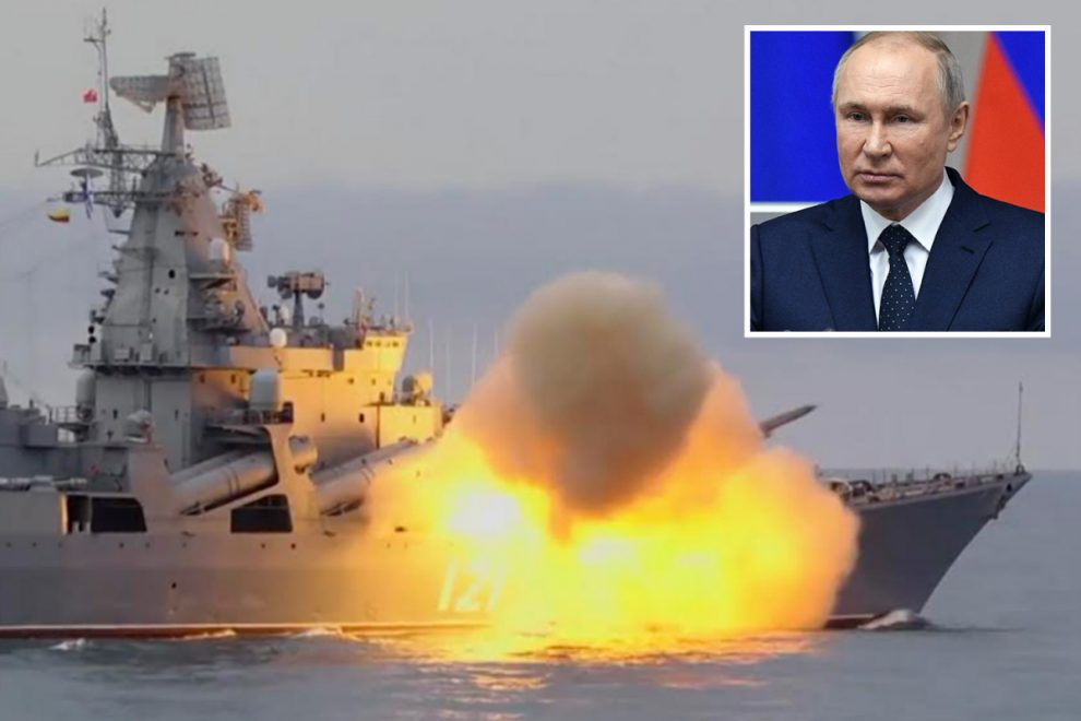 Russia launches supersonic cruise missile in Black Sea as Putin sends chilling message to Biden