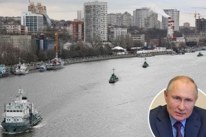 Russia plans 'major warship assault to cut off Ukraine's water supply' as Putin amasses fleet in Black Sea
