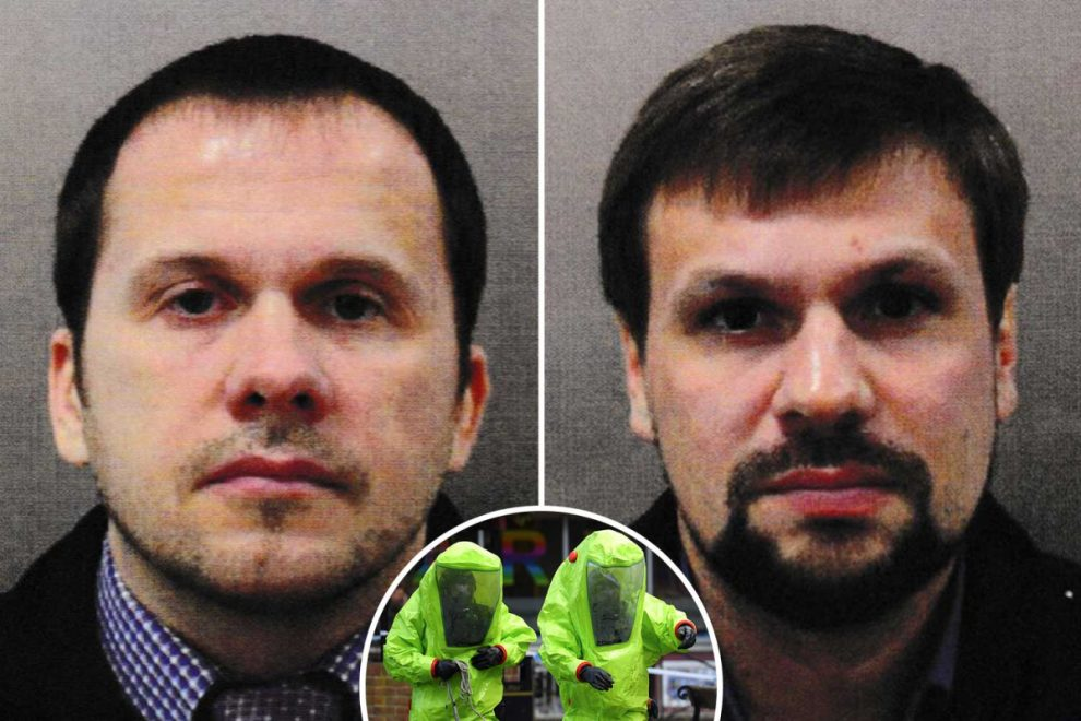Russian spies suspected of Salisbury novichok nerve agent attack linked to explosion