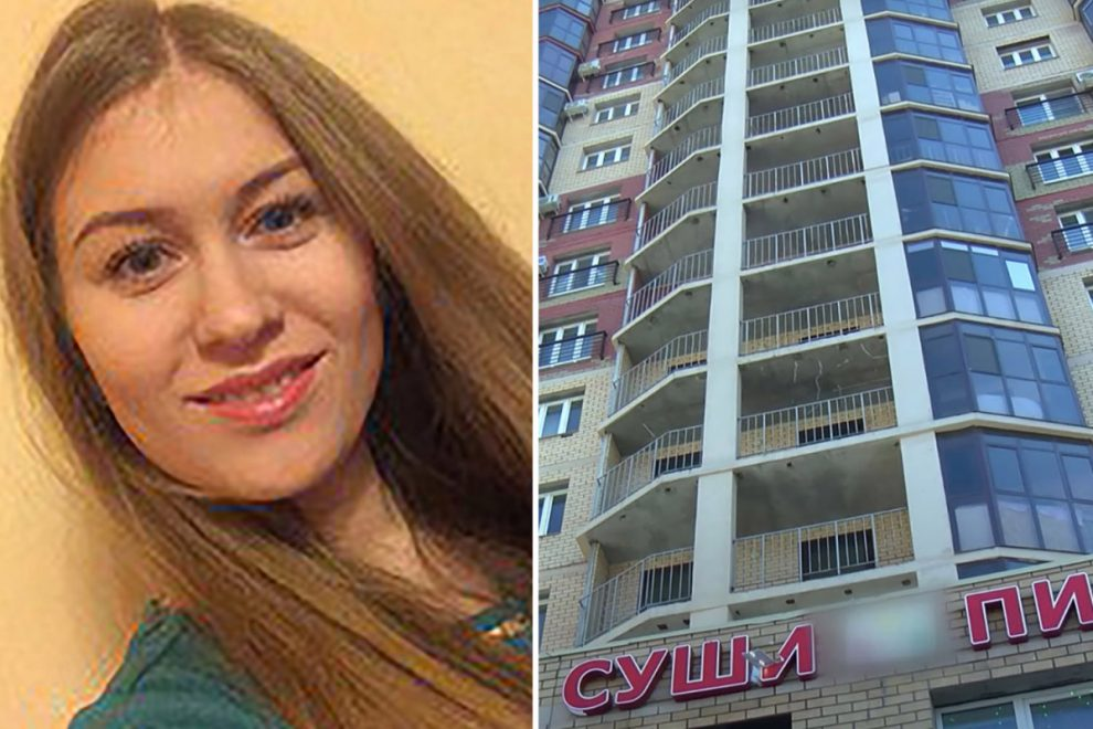 Woman, 27, falls 220ft to her death from apartment after 'losing her balance' while cleaning windows