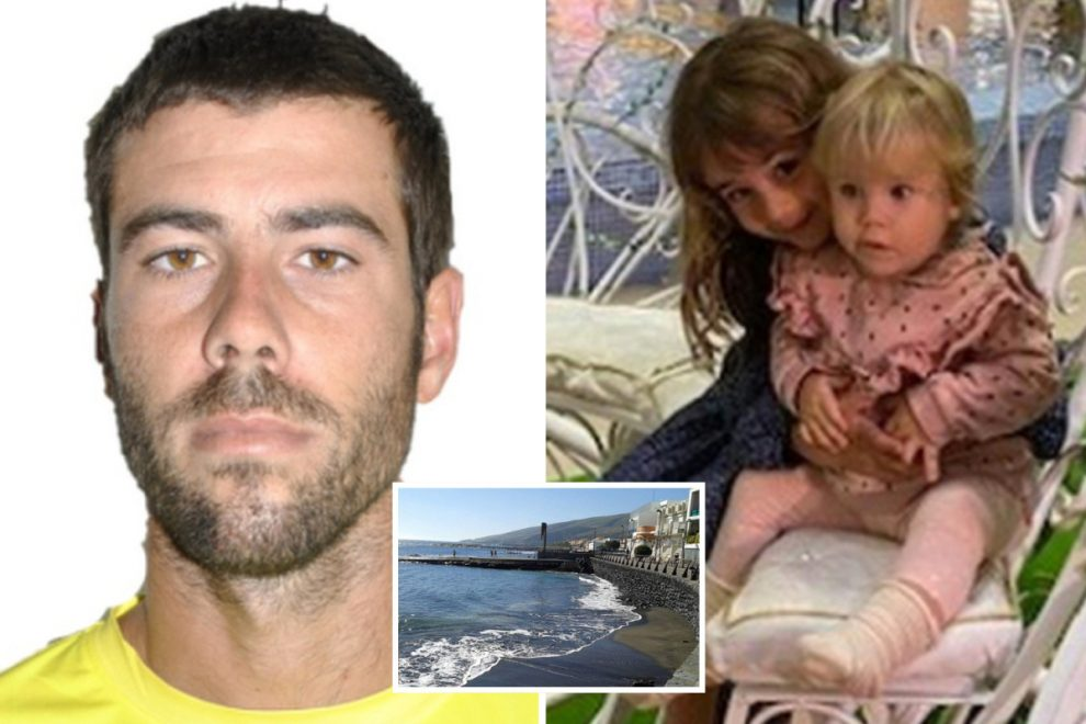 Dad who 'kidnapped his two daughters, 1 & 6, made transfer of €55,000 before fleeing Tenerife with girls on boat'