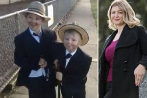 Horrified mum woke to find her two sons, 6 & 8, gassed to death in the bed after being poisoned by faulty heater