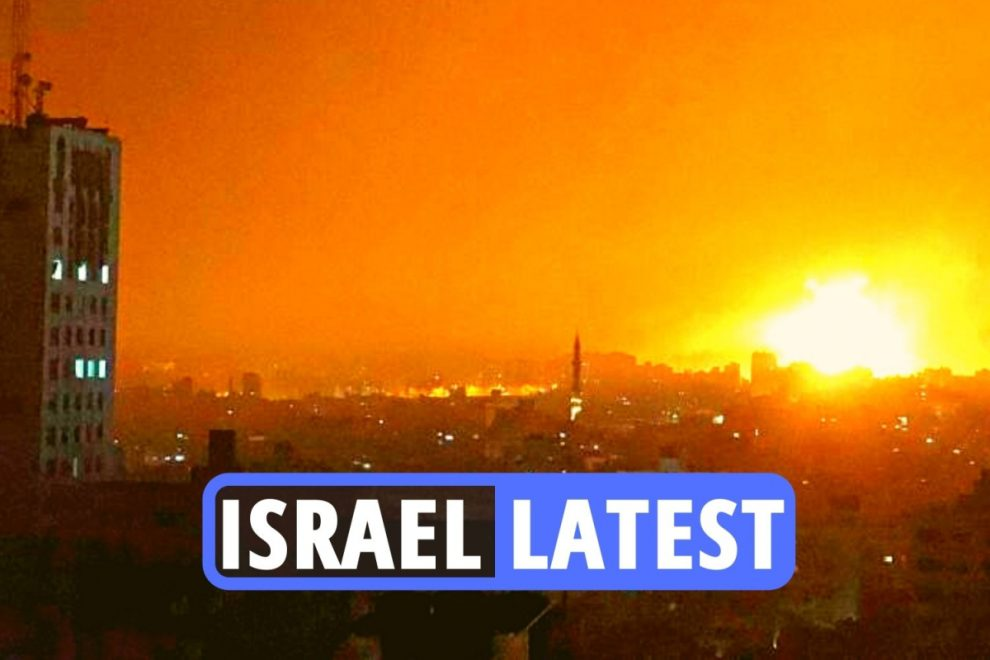 Israel latest updates – All-out war fears grow as Gaza battered by air strikes and military calls up 9,000 reservists