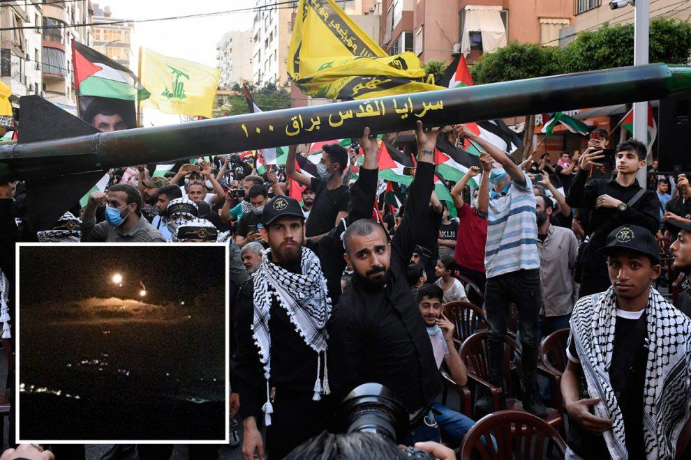 Israel shells Lebanon after jihadi rocket attack in escalation of Gaza bloodshed as Boris & Biden call to protect kids
