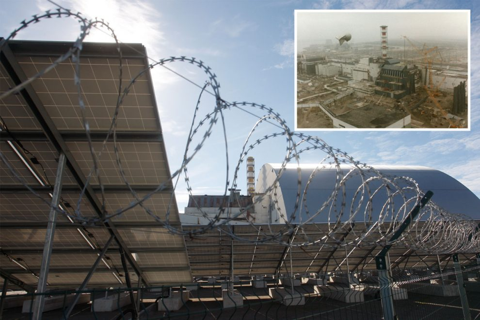 Mystery as 'zombie nuclear fires' REIGNITE at Chernobyl blast site 35 years on sparking fears of another disaster