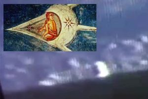 UFO that looks 'just like 600-year-old biblical painting' spotted near ISS sparking wild conspiracies