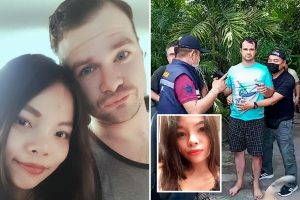 US fugitive arrested & faces death penalty for 'fatally stabbing pregnant Thai wife & hiding body after she refused sex'