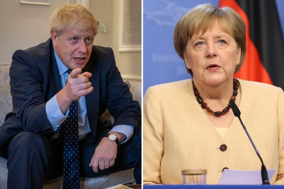 Boris Johnson to urge Angela Merkel to DROP EU-wide quarantine for Brit tourists as UK leads Covid strain research