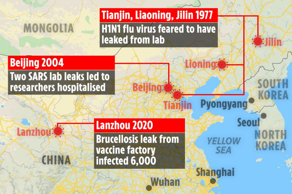 China's gung ho biolabs have 'REPEATEDLY released deadly viruses onto the world' – so Covid 'lab leak' is no shock