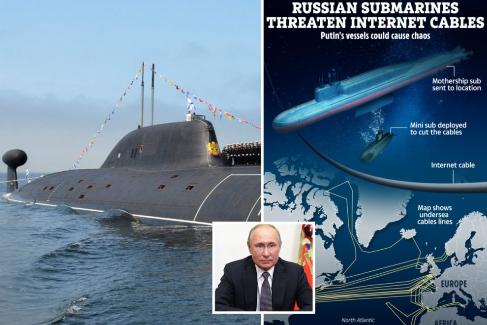 Putin's 'city killer' 604ft submarine packed with nuke drones capable of triggering tsunami sets sail for the first time