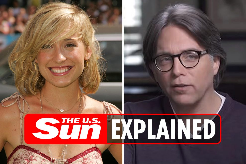 What is the NXIVM sex cult?