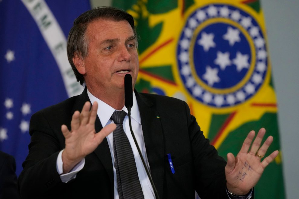 Brazil president Jair Bolsonaro in hospital with ten-day fit of HICCUPS as speculation grows over his health