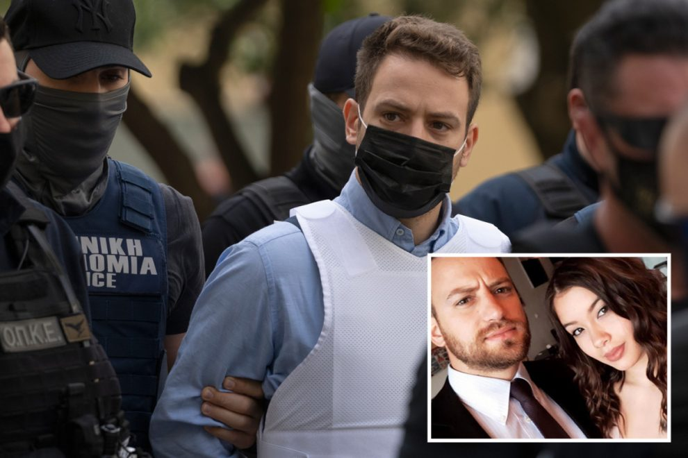 Caroline Crouch cops have been HONOURED in Greece despite them taking a month to catch killer husband who strangled her