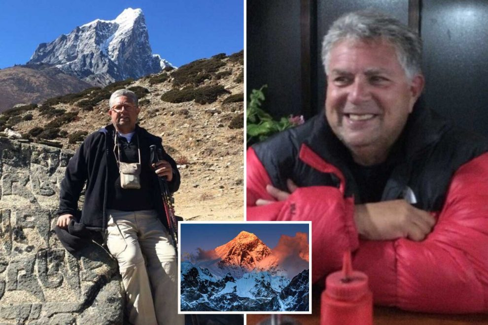 Dad, 64, died climbing Everest despite being in 'best shape of life' after he 'developed fungal infection in his blood'