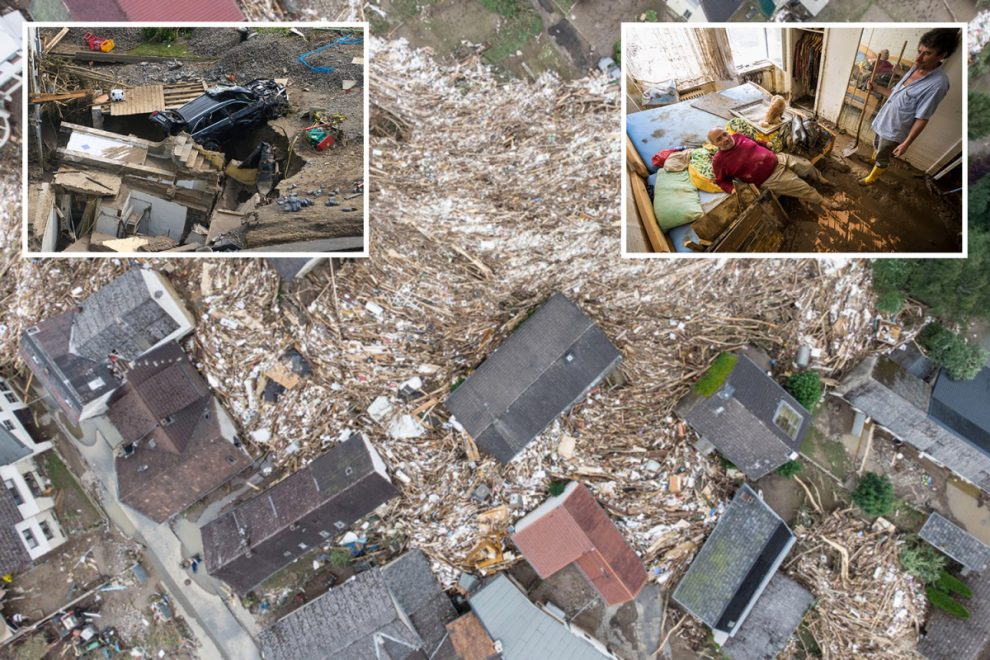 Germany got rain preparation 'badly wrong' despite warnings as 'floods of death' kill 143