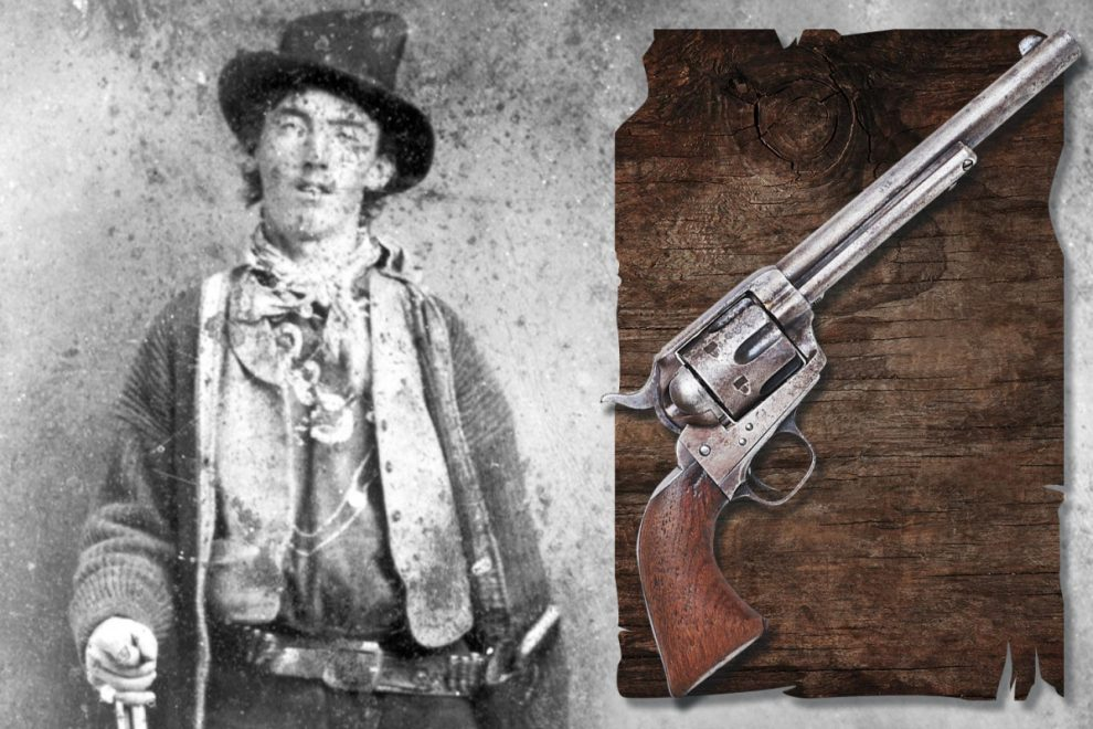 Gun that killed Billy the Kid 140 years ago on sale at auction for staggering £2.2million