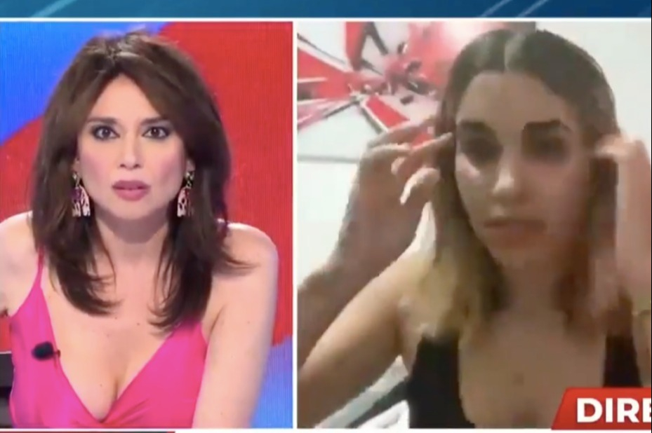 Horrifying moment Cuban police 'arrest' YouTuber during live TV interview at home amid anti-regime 'freedom' protests
