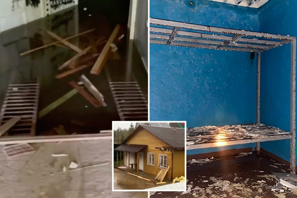 Mystery as gruesome dungeon prison with its own crematorium for victims 'tortured to death' is found in Russia