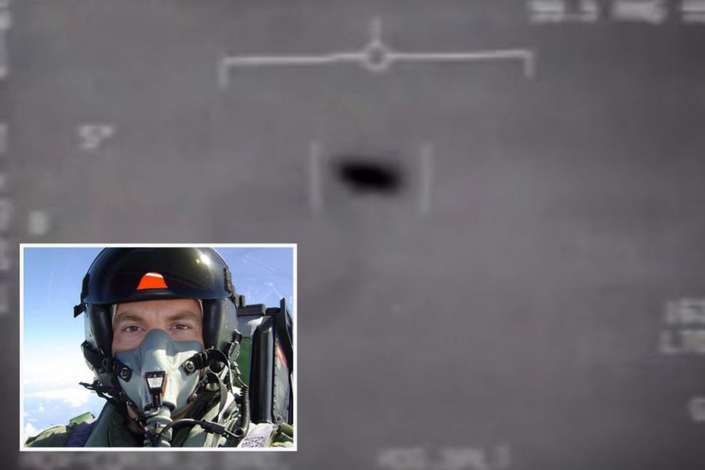 US fighter pilot who witnessed tic-tac UFOs claims craft disabled his weapons in a 'act of war'